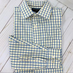 Banana Republic Factory Non Iron Slim Fit Shirt  M
